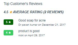 Bellissa Soap Customers Reviews